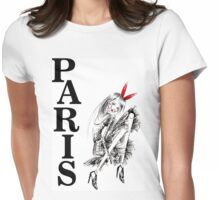 Just Love Paris Womens Fitted T-Shirt