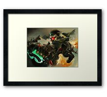 Full Throttle Framed Print