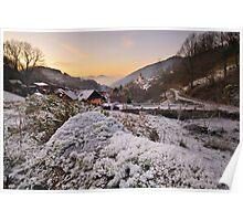 Winter in Reichental Poster