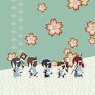 Hakuouki - Shinsengumi Patrol! by chocoboco