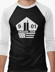 911 - Pentagon Men's Baseball ¾ T-Shirt
