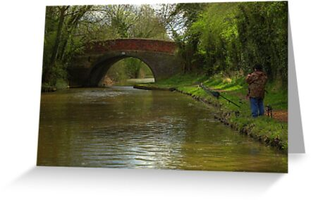 The Fisherman - Ashby Canal by SimplyScene