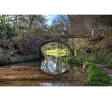 Along the Canal Photographic Print