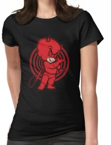 Blind Red Devil Womens Fitted T-Shirt
