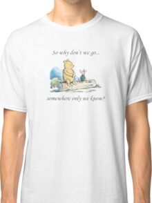 """Keane """"Somewhere Only We Know"""" Classic T-Shirt"""