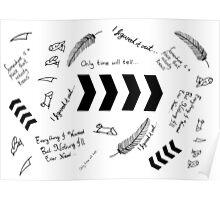Liam Payne Tattoos  Poster