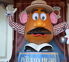 Disney Pixar Mr. Potato Head Disney Toy Story 1, 2, 3 by notheothereye