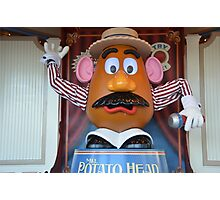 Disney Pixar Mr. Potato Head Disney Toy Story 1, 2, 3 Photographic Print