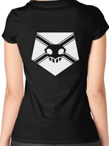 Shinigami Badge Women's Fitted Scoop T-Shirt