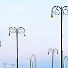Street Lamps  by Ethna Gillespie