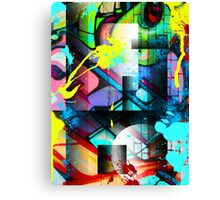 Abstract Urban Canvas Print