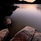 Orange River Sunset by Thomas Peter