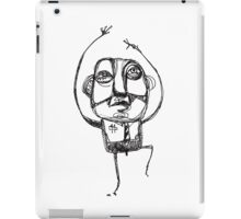 Dancing Office Man iPad Case/Skin