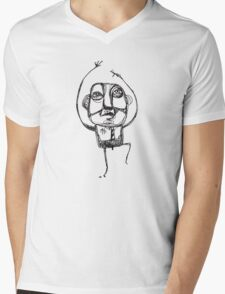 Dancing Office Man Mens V-Neck T-Shirt