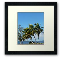 view To Sanibel Framed Print