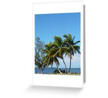 view To Sanibel Greeting Card