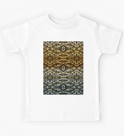 Floral Wrought Iron Kids Tee