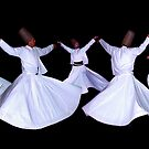 WHIRLING DERVISHES - ISTANBUL by Michael Sheridan