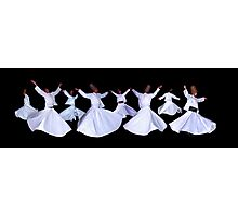 WHIRLING DERVISHES - ISTANBUL Photographic Print