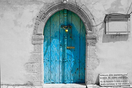 Old Blue Door by jomfix