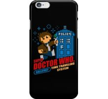 Super Doctor Who iPhone Case/Skin