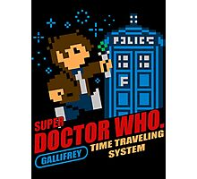 Super Doctor Who Photographic Print