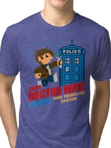Super Doctor Who Tri-blend T-Shirt