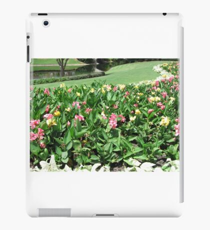 Colorful Flowers at Disney World iPad Case/Skin