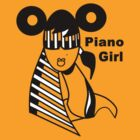 Piano girl by Beatrice  Ajayi