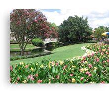 Fairy Tale Landscape at Disney World Canvas Print