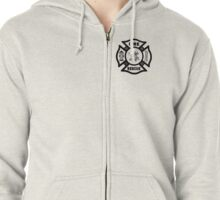 Firefighter Rescue Zipped Hoodie