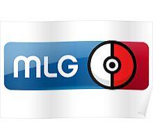MLG Pokemon Logo Poster
