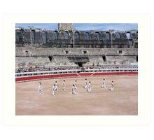 Bullfight in Arles Art Print