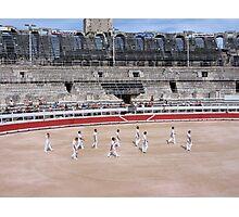 Bullfight in Arles Photographic Print