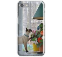 Stop and Smell the Flowers! iPhone Case/Skin