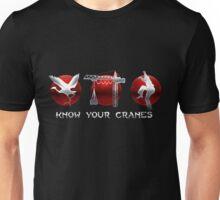 Know Your Cranes - Martial Arts Unisex T-Shirt