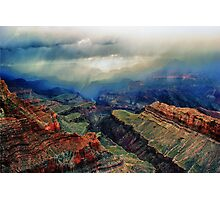 Canyon Clouds Photographic Print