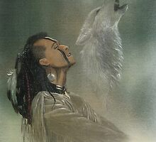Native american indian by morgansartworld