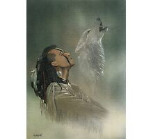 Native american indian Photographic Print