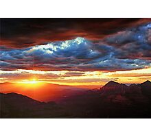 Sedona Sunset Photographic Print