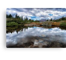 Mountain Reflections Canvas Print