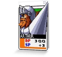 Sir Arthur Greeting Card
