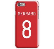 Gerrard 8 iPhone Case/Skin