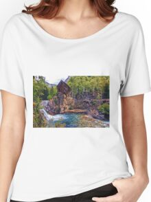 Crystal Mill Women's Relaxed Fit T-Shirt