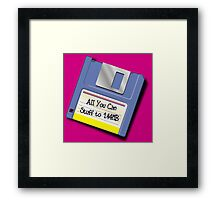 All Stuff You Can Stuff to this Stuff... Framed Print