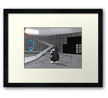 Nyu Portal testing room Framed Print