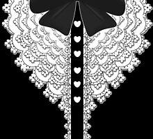 Lolita Bow Ruffles by Elizabeth Escalera