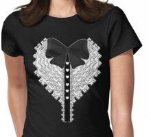 Lolita Bow Ruffles Womens Fitted T-Shirt