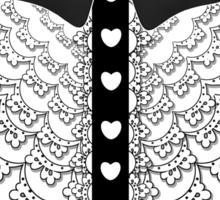 Lolita Bow Ruffles Sticker