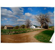 White Picket Fence Poster
